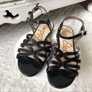 Sam Edelman Daphnie Black Sandals